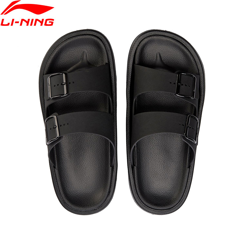 Li-Ning 2018 Men The Trend Clap Beach & Outdoor Sandals Light Slipper Li Ning Stylish Sports Shoes Sneakers AGAN001