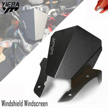 MT-07  FOR MT 07 2016 2015 CNC Motorcycle accessories Front Windshield Windscreen Motorbike For Yamaha MT07 2013-2017