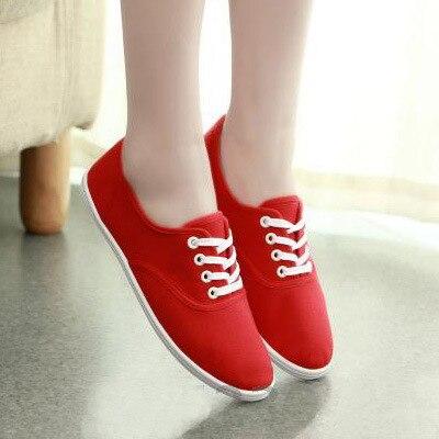 Della molla delle donne scarpe di tela femminile Coreano scarpe bianche  scarpe traspiranti Letteratura studente scarpe femminili scarpe commercio  estero in ... 6500ff21075