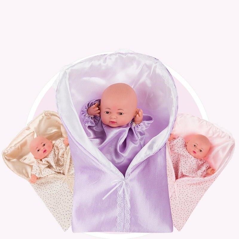 Lol Poupées Jouets Bjd Reborn Silicone Simulation Bébé poupée de sommeil marionette à main Parent-jouet d'enfant Enfants Gants Spectacle de Marionnette Doigt
