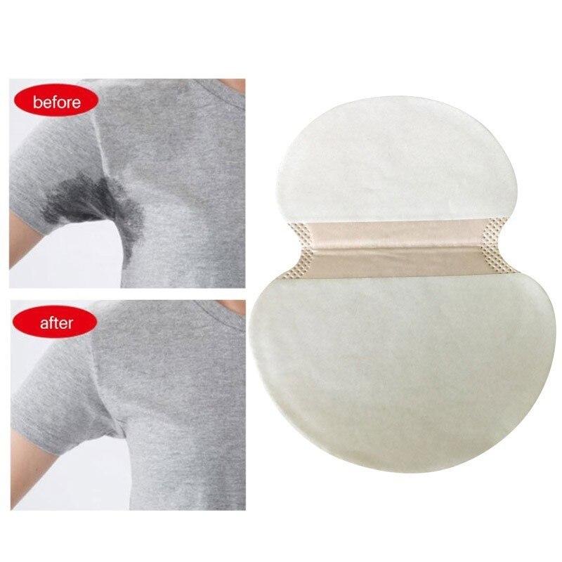 20pcs Underarm Pads Sweat Pads Shield Underarm Armpits Sweat Pads Deodorant Summer Women Men Care Perspire Armpit Absorbent Pads