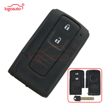 Smart replacement key case car key shell 2 Button For Toyota Prius Corolla Verso цена и фото