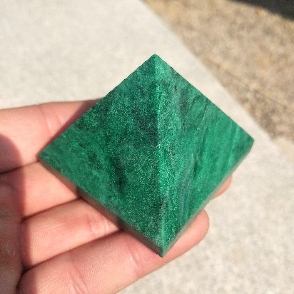50MM African Green pine jade Pyramid Stone of Powerful Healing, Metaphysical, Reiki50MM African Green pine jade Pyramid Stone of Powerful Healing, Metaphysical, Reiki