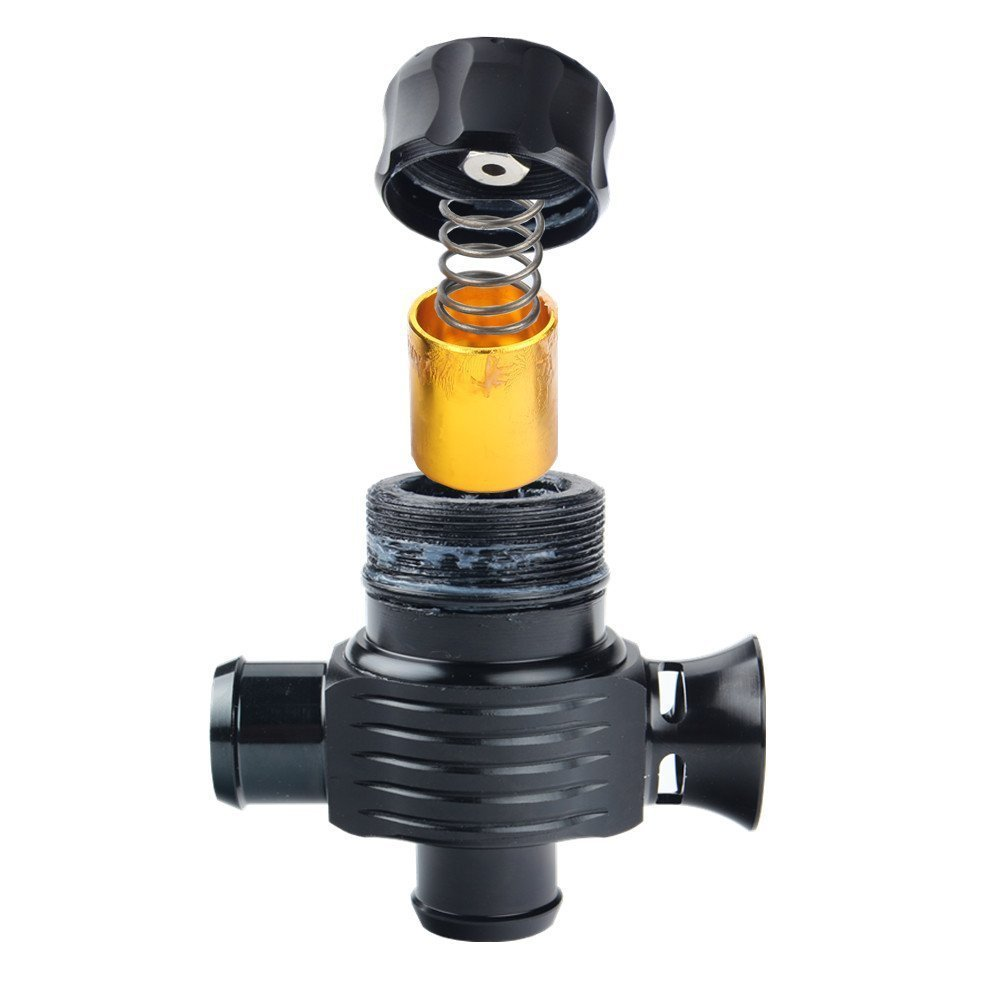 Универсальный Гоночный турбо алюминиевый 25 мм дизельный выдувный клапан турбинный регулировочный клапан автомобиль модифицированный клапан сброса давления