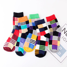 Mens socks funy in the wind Deodorant mens sweat-absorbent Europe America fashion trend personality