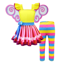 Little Girls Fancy Dress Nancy Costume Petal Sleeve Casual Clothes Kids Summer Party Cosplay Princess Costume Child Nancy Dress fancy nancy nancy clancy seeks a fortune