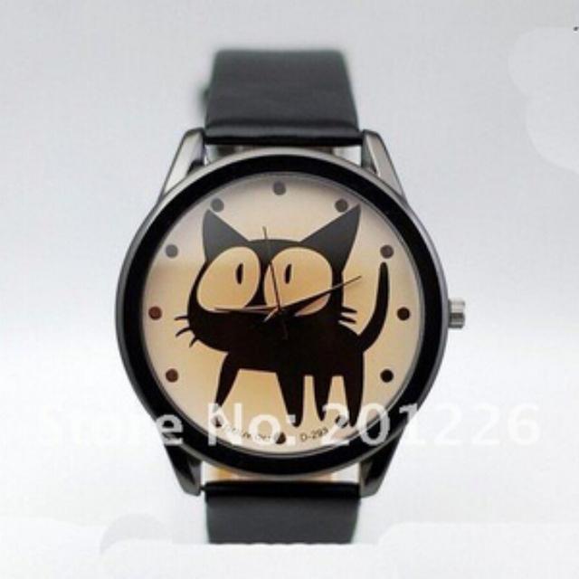 Zegarek z kotkiem