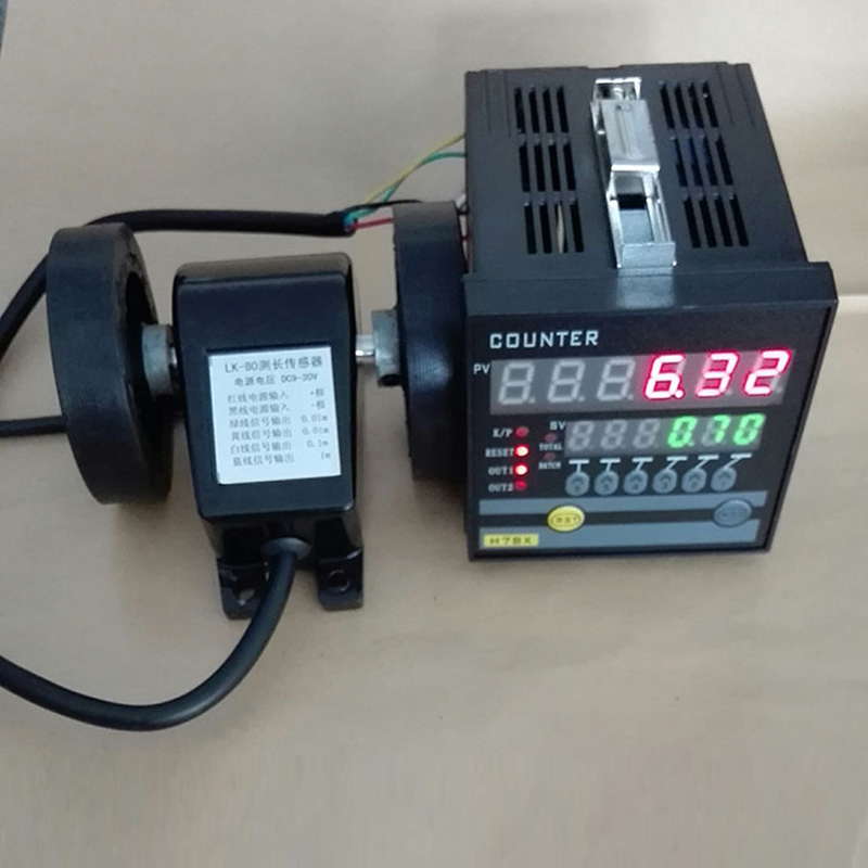 Intelligent counter meter length meter meter lap length tester and reversible H7JC2 6E2R