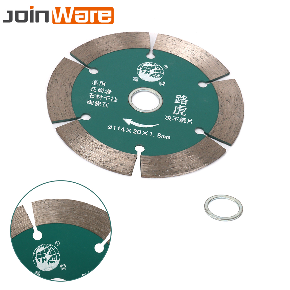 114MM Metal Diamond Circular Saw Blades Disc Cutting Rotary Tools For Concrete Granite Ceramic Tile 20MM Bore 15MM Kerf Width