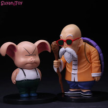 Anime Dragon Ball Z Ação Figura Modelo Brinquedo DBZ Goku Mestre Kame PVC Figura Oolong Pig Presentes Estatueta Modelo Toy para As Crianças(China)
