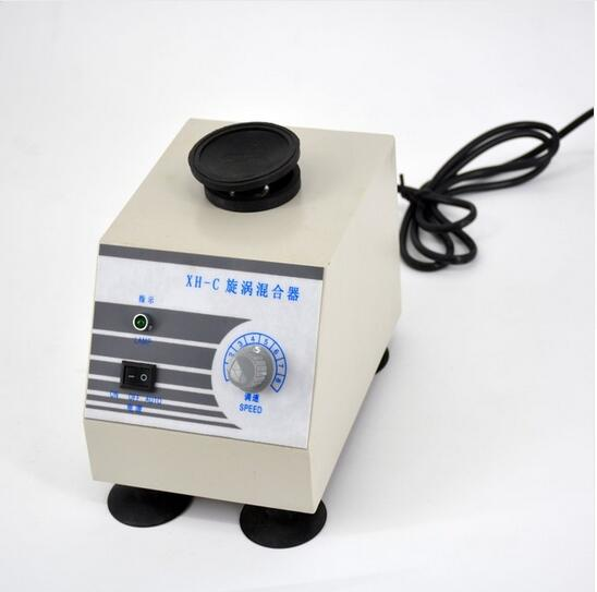 Fast shipping 60W XH-C Stepless Vortex Mixer / Test Tube Shaker Lab Mixers 0~2800 RPM 220V
