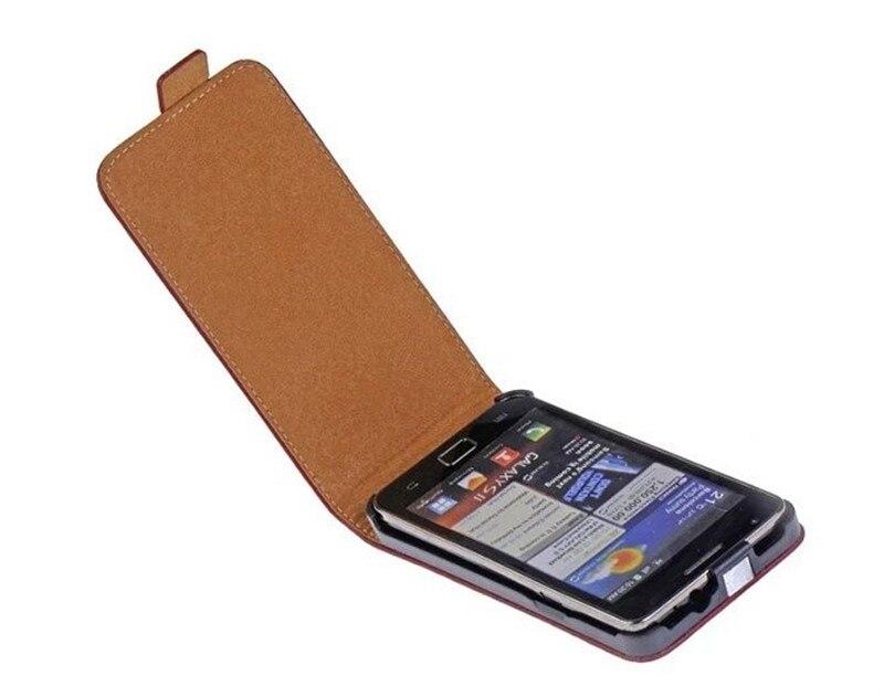 Для Samsung Galaxy S2 i9100 ультра тонкий Пояса из натуральной кожи Магнитная застежка Вертикальный флип сумка Мобильный телефон задняя крышка В виде...