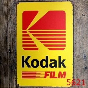 20x30CM Tin Sign Kodak Film Pu
