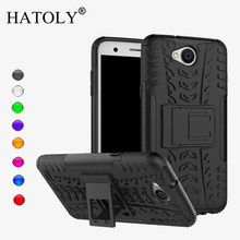 HATOLY For Case LG X Power 2 Cover Soft Silicone & Plastic Kickstand Case For LG X Power 2 Case For LG K10 Power/ LV7 Funda 5.5