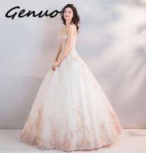 Genuo New women 2019 summer new fashion temperament elegant slim lotus sleeve dress womens sexy sparkling ladies