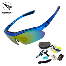 2018 поляризованные очки Велоспорт велосипед Спорта на открытом воздухе велосипедов Солнцезащитные очки для Для мужчин Для женщин очки 5 Объектив велосипедные очки MTB