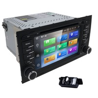 7 Touch Screen Car DVD GPS for Audi A4 B6 B7 8H Android 8.0( 2002 2008) year with Wifi 4G GPS Bluetooth Radio RDS USB 4G+32G CD