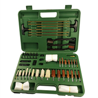 62pcs/set Rods Wooden Box Tube Brush with Cotton And Wire Brush for Cleaning Tools