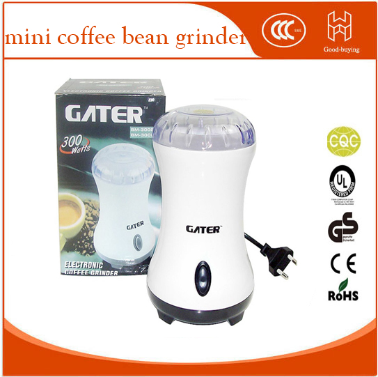 Germany Brand Electric Coffee Spice Grinder Maker with Stainless Steel Blades Beans Mill Herbs Nuts Moedor de Cafe Home Use abs plastic electric pepper spice sea salt mill grinder muller yellow