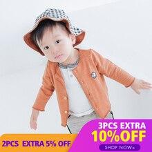 Lemonmiyu/весенние хлопковые куртки для малышей модные тонкие пальто с пуговицами для новорожденных однотонная верхняя одежда унисекс, Знак зодиака Овен