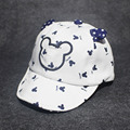 Новый Весной и Летом Милые Дети Шляпа Шапка Детей Микки Маус шляпы С Ушами Детские Шапки Для Мальчиков Девочек Новорожденных Детей