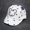Nueva Primavera y el Verano Los Niños Lindos del Casquillo Del Sombrero Niños de Mickey Mouse sombreros Con Orejas Sombreros Del Bebé Para Niños Niñas Niño Recién Nacido Niños