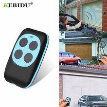 Kebidu controle remoto 433mhz, cópia de código remoto, wireless, 4 canais, clonagem elétrica, porta da garagem, cópia automática de controle remoto