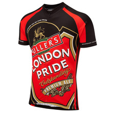 46bb524f8 Retro Britain UK Beer Men Cycling Jersey Short Sleeve Summer Breathable  Quick Dry MTB Cycling Clothing