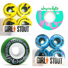 2015 4pcs/Set Skate Wheels High-Density PU 52mm Gril Blue Durable Street Skateboard