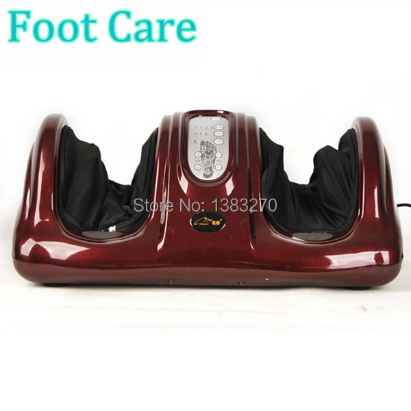 Personal Feet Care Device with Heating and Therapy Free shipping foot massage products electric antistress therapy rollers shiatsu kneading foot legs arms massager vibrator foot massage machine foot care device hot