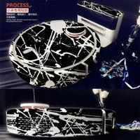 ผิวสีขาวรูปลอกไวนิลห่อสำหรับXiaomiหุ่นยนต์ทำความสะอาดMIหุ่นยนต์สติ๊กเกอร์ตบฟิล์มป้องกัน17831