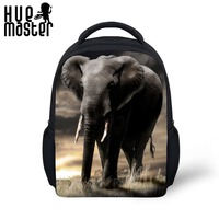 Elephant Prints Design 12 Inch Kids Backpacks For Girls Boys Student Children Travel Fashion Backpacks School
