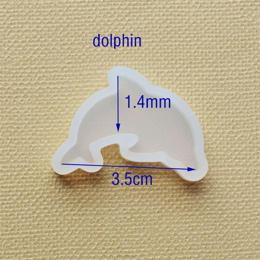 Silicone Mold lovely animal cat rabbit deer dolphin Resin Silicone Mould handmade DIY Jewelry Making epoxy resin molds in Jewelry Tools Equipments from Jewelry Accessories