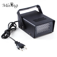 3W 24 LED Stage Lights Operated DJ Strobe Lights Disco Party Club KTV Stroboscope White Stage