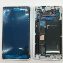 Para Samsung Galaxy Note Borda 4 N915F N915G N915FY N915 Original Quadro Oriente Habitação Chassis Tampa Do Telefone Móvel Com o Lado chaves
