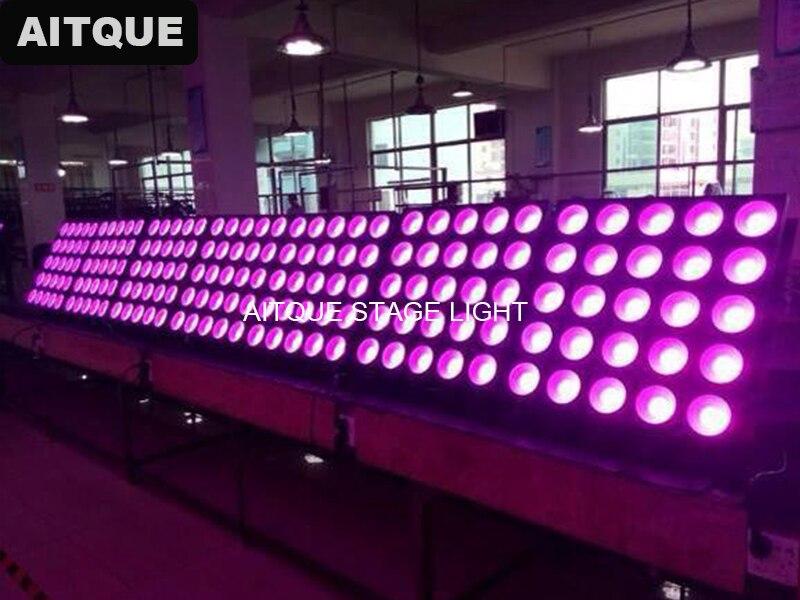цена на 6pcs Dj dot matrix 5x5 rgb led matrix blinder light 25x30w led panel rgb dmx LED matrix for searchlight