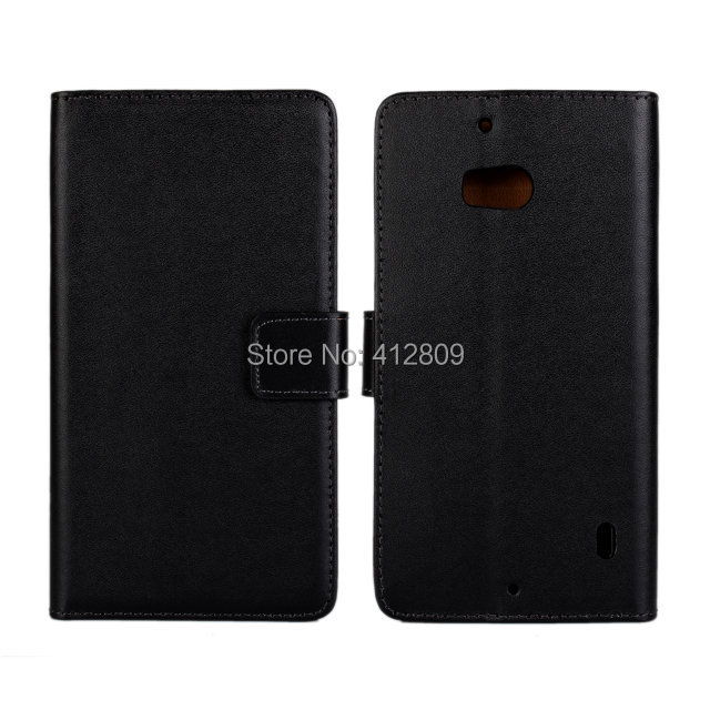 1PCS Luxury Genuine Leather Wallet Pouch Back Cover Case for Nokia Lumia 930 with Magnetic Snap Cellphone Bags Free wallet