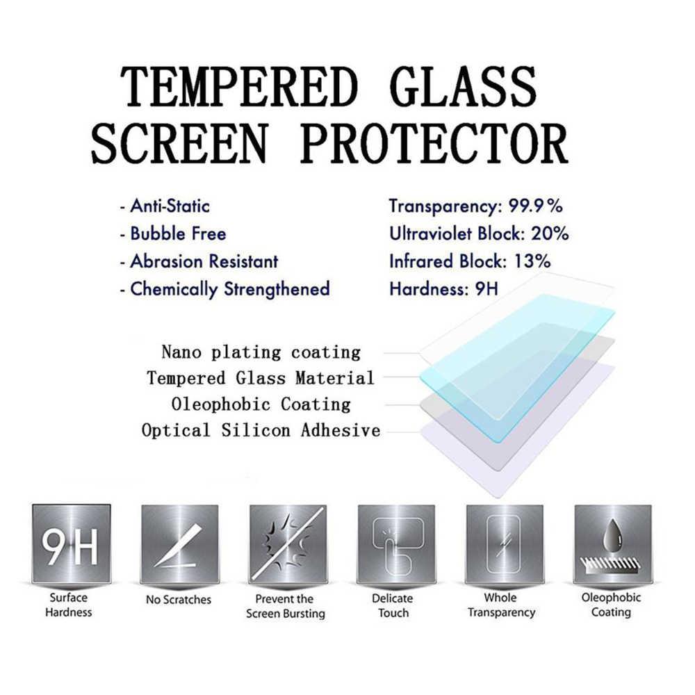 2 قطعة/الوحدة الزجاج المقسى ل آسوس Zenfone 2 ZE500CL عرض واقية ze 500 cl 500CL واقي للشاشة ضوء ل ASUS ZE500CL