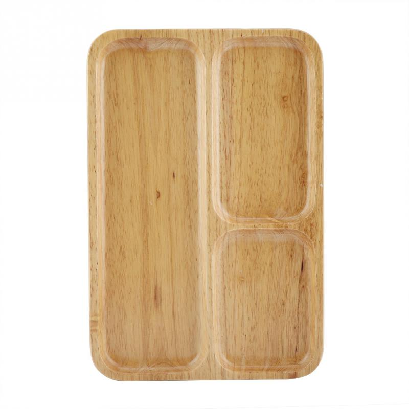 Top 20 Tea Platters: 30 X 20 Cm Wood Tea Coffee Serving Tray Restaurant Trays