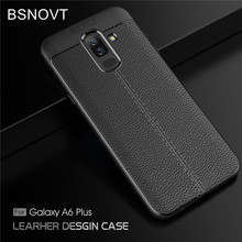 For Samsung Galaxy A6 Plus 2018 Case Soft Bumper Cover BSNOVT