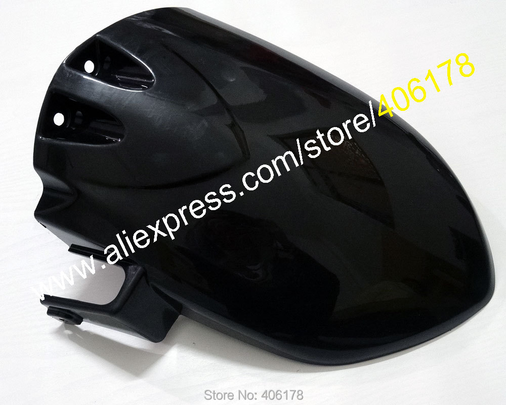ФОТО Hot Sales,Motorcycle Rear Hugger Fender For Kawasaki ZX-10R 06 07 ZX10R 2006 2007 ZX 10R Rear Guard ABS Mudguard Modified Parts