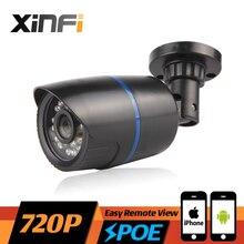 XINFI HD 1.0 MP CCTV POE camera night vision indoor / outdoor Waterproof network CCTV 1280*720P IP camera P2P ONVIF remote view