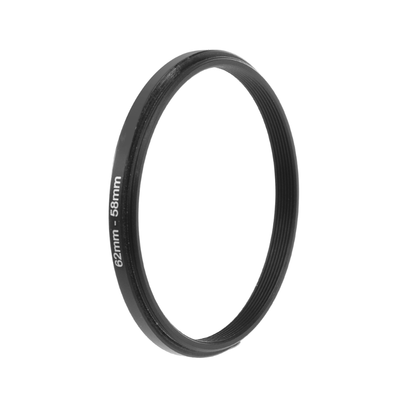 62mm To 58mm Metal Step Down Rings Lens Adapter Filter Camera Tool Accessory New