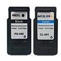 Cartucho de tinta compatível canon 440 441 fo canon mx528/mx398/mx458 impressora jato de tinta venda quente real