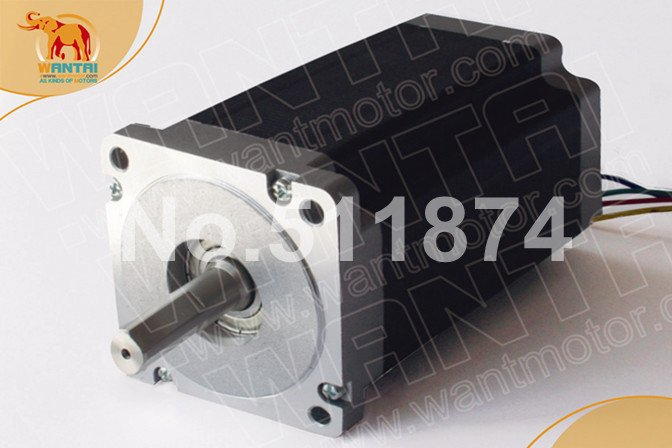 Good Quality!Wantai CNC Nema34 stepper motor 85BYGH450B-004  6.5N-m(920oz-in) 113mm  3.5A  CE ROHS ISO CNC Router Mill Cut Laser good quality wantai cnc 8 lead nema34 stepper motor 85bygh450d 002 770oz in 94mm 4a ce rohs iso router cut mill laser engraving