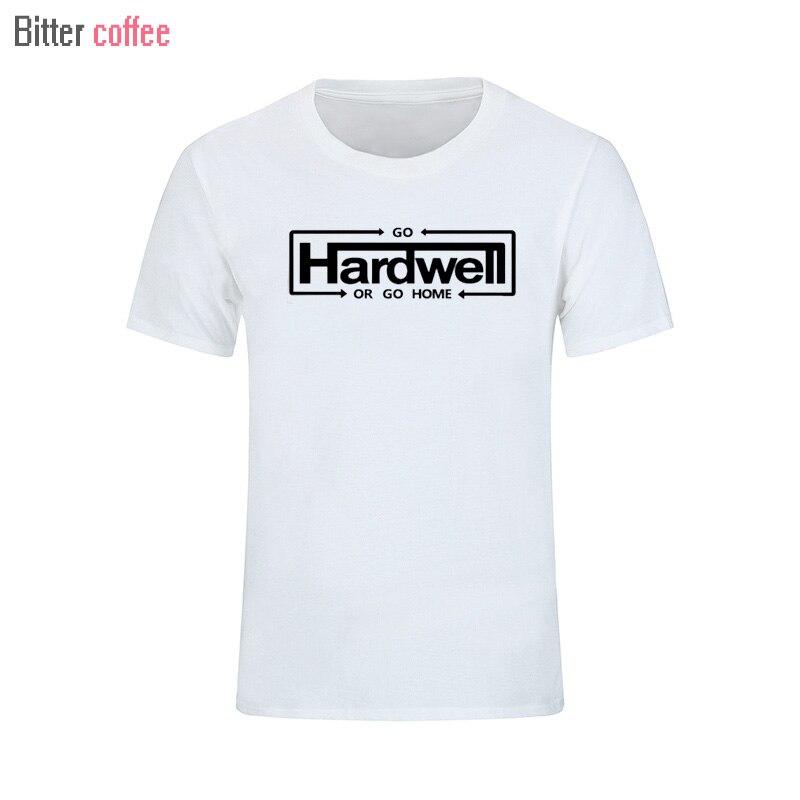GO HARDWELL OR GO HOME DJ Hip Hop Music Mens Men T Shirt Summer T-shirt Fashion 2017 Cotton T shirt