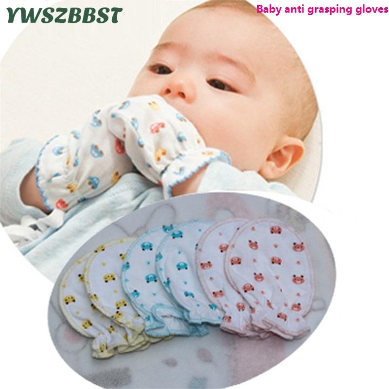 100% Baumwolle Baby Infant Anti Greifen Handschuhe Für Neugeborenen Schutz Gesicht Infant Handschuh Schäkel Sommer Herbst Baby Handschuhe Im Sommer KüHl Und Im Winter Warm