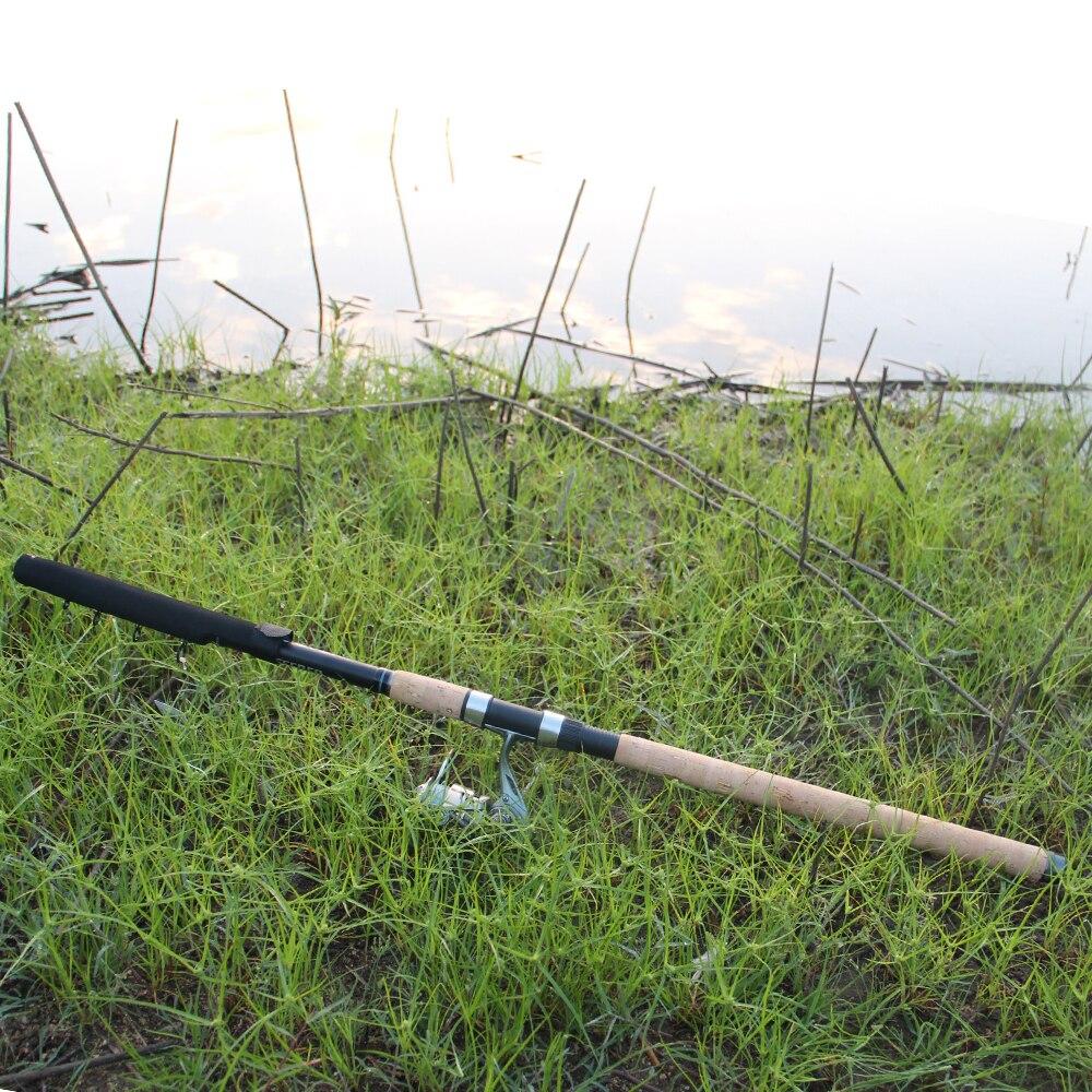 OBEI mangeoire canne à pêche télescopique filature coulée voyage tige 3.3 3.6 m vara de pesca carpe chargeur 60-180g pôle - 5