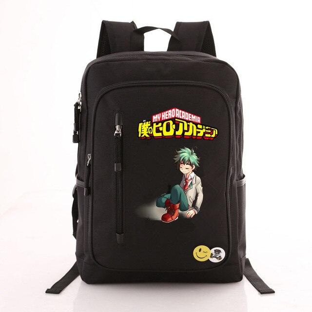 Рюкзак моя геройская академия черный 2