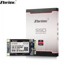 Zheino Q2 mSATA 256 ГБ SSD SATA3 256 м Кэш Внутренний твердотельный диск 2D MLC флэш-жесткий диск для ноутбук Мини-ПК Планшеты PC